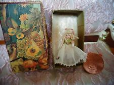 Tiny Miniature dollhouse dolls doll ~porcelain~ jointed~ 1 1/8 ""