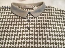 EYE-CATCHING JOHN ASHFORD GOLF SHIRT SIZE L
