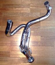 "Buell 2,5"" oder 2'' Zoll US Racing Krümmer Edelstahl M2 X1 S3 header lambda"