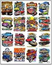 1/64, 1/87 - DECALS FOR HOT WHEELS, MATCHBOX, SLOT CAR: CAR SHOW POSTER I