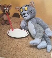 Tom and Jerry Toy KNITTING PATTERN (PN010)