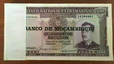 MOZAMBIQUE 500 ESCUDOS P118 1976 x 100 Pcs Lot BUNDLE SHIP UNC BANKNOTE PORTUGAL
