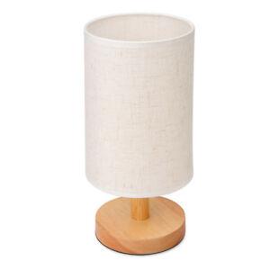 Round Modern Cloth Table Lamp Bedroom/Bedside Lamp Desk Reading Light Fixtures