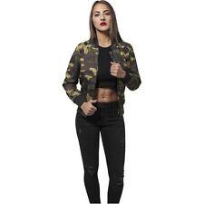 Bomber Damenjacken & -mäntel mit Camouflage-Muster und Reißverschluss