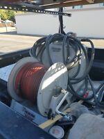 pest control spray rig, termite spray rig, versa tool sub slab injector rods