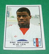N°68 ERIC WILLIAM N'JO LEA BREST STADE BRESTOIS SB PANINI FOOTBALL 84 1983-1984