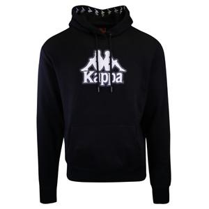 Kappa Men's Black Vedad Pullover Hoodie