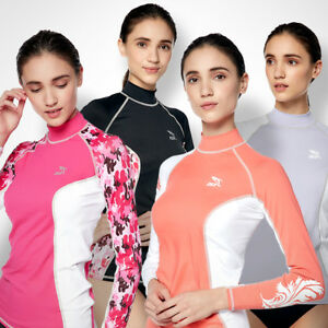 IST DS56 Women's Long Sleeve Spandex Rash Guard