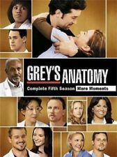 Grey's Anatomy The Complete Fifth Season DVD Season 5 BOXSET 7 Disc