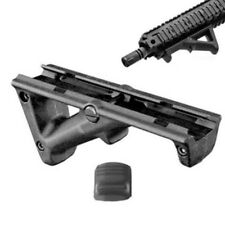 Black Angled Hand Guard Foregrip Fore Grip for 20mm Picatinny Quad Rail