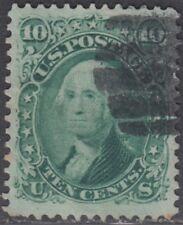 USA Scott #68 10ct Used XF centering CV $60