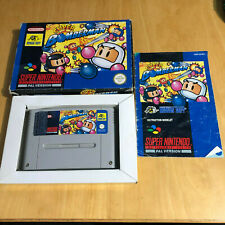 SNES Super Nintendo Boxed Game: Super Bomberman