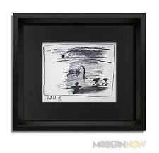 Pablo PICASSO Lithograph Limited Edition 1961 + 3 Cat. Ref. +Custom FRAMING