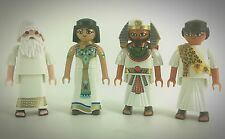 playmobil X4 ship figures custom warrior medieval klicks new egyptian lot