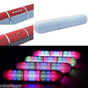 Gehäuse Bluetooth Lautsprecher Fm Tf USB Aux Freisprecheinrichtung Pulse LED