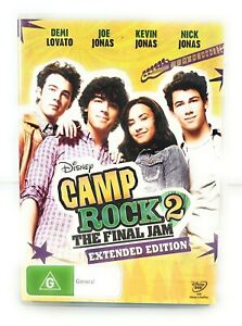 Camp Rock 2: The Final Jam (DVD, 2010) Demi Lovato Extended Edition R4 Free Post