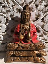 Bali - Balinese Statue - 30 Cm high Balinese Statue on lotus