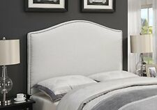 Right2Home Upholstered Headboard Linen King DS-D016-270-432 Grey NEW