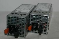 LOT OF 2 T327N 0T327N DELL POWEREDGE R710 T610 570W POWER SUPPLY A570P-01 SERVER