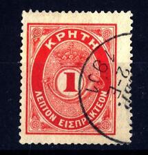 CRETA - 1901 - Segnatasse. Cifra