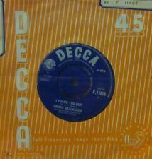 "Bridie Gallagher(7"" Vinyl)I Found You Out-Decca-F.11096-UK-1958-Ex/VG"