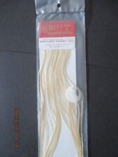 whiting 100s ginger size 10 saddle feathers flytying materials