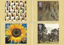 GB POSTCARDS PHQ CARDS MINT SET 222 2000 TREE AND LEAF PACK