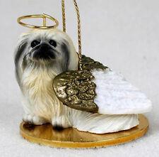 PEKINGESE ANGEL DOG CHRISTMAS ORNAMENT HOLIDAY  Figurine Statue  gift