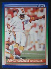 NFL 99 Donald Igwebuike Tampa Bay Buccaneers Score # 1990