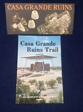 Vintage Lot Of 2 CASA GRANDE RUINS Booklet (1983) & Brochure (1986)
