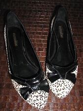 chaussures manoukian poil imitation panthère 39