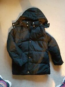 Gap Kids Black Puffer Jacket, XL, Age 12-13, Hardly Worn