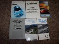 2003 Mazda6 User Guide Owner Manual i s Sport Touring Grand 2.3L 3.0L 4Cyl V6
