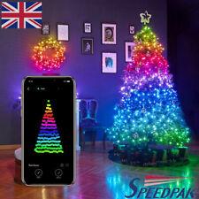 Cadena De Luces Led De Árbol De Navidad Decoración Luces App de control remoto