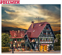 Vollmer N 47711 Gasthaus mit Metzgerei und Inneneinrichtung - NEU + OVP