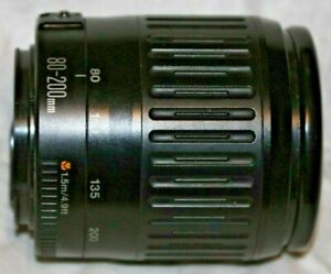 Canon EF 80-200mm F 4.5-5.6 Lens Fits EOS digital, Very Good Condition