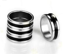 20mm Magical Magnetic Magic Ring Trick Silver & Black Powerful Pro PK Size New