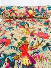 EXPRESS SHIPPING Throw Blanket Handmade Quilt Bedspread Quilt Kantha Quilts