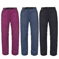 Trespass Contest Womens Active Trousers Quickdry Pants in Black Blue Purple