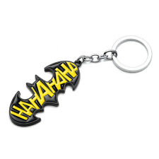 DC Comics BATMAN HA HA HA JOKER Metal Keychain Key Ring Key Chain Metal Enamel