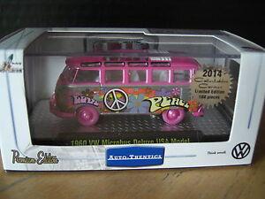 M2 Machines 1960 Volkswagen VW Hippie Bus Raw Super Chase 1/64 Diecast 108 Made