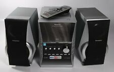 Panasonic Sa-Pm31 Cd Stereo System 5-Disc Changer Cassette Am Fm