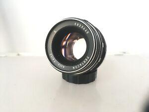 Vtg PENTACON AUTO 50mm f1.8 bubble bokeh M42 Prime Fast LENS GERMANY EX