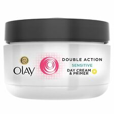 Olay Double Action Sensitive Day Cream & Primer, 1.7 oz, Unboxed