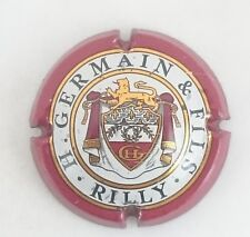 capsule champagne GERMAIN H. n°20 inscription RILLY