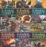 FEAR ITSELF N°1-3-4-5-6-7 Marvel Panini Comics