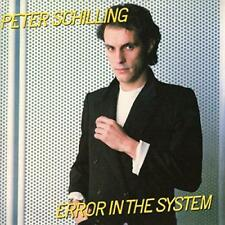 Peter Schilling - Error In The System: Expanded (NEW CD)