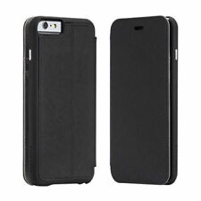 """APPLE iPhone 6 / 6s PLUS, 5.5"""" BLACK FOLIO WALLET & STAND by CASE-MATE 24Hr Post"""
