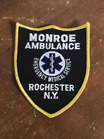 New York - Monroe Ambulance, Rochester Patch (Emblem)