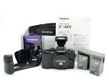 Olympus OM-D E-M5 Camera Low Shutter EXCELLENT Condition w/Grip